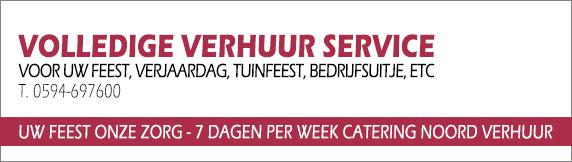 Banner Verhuur Catering Noord